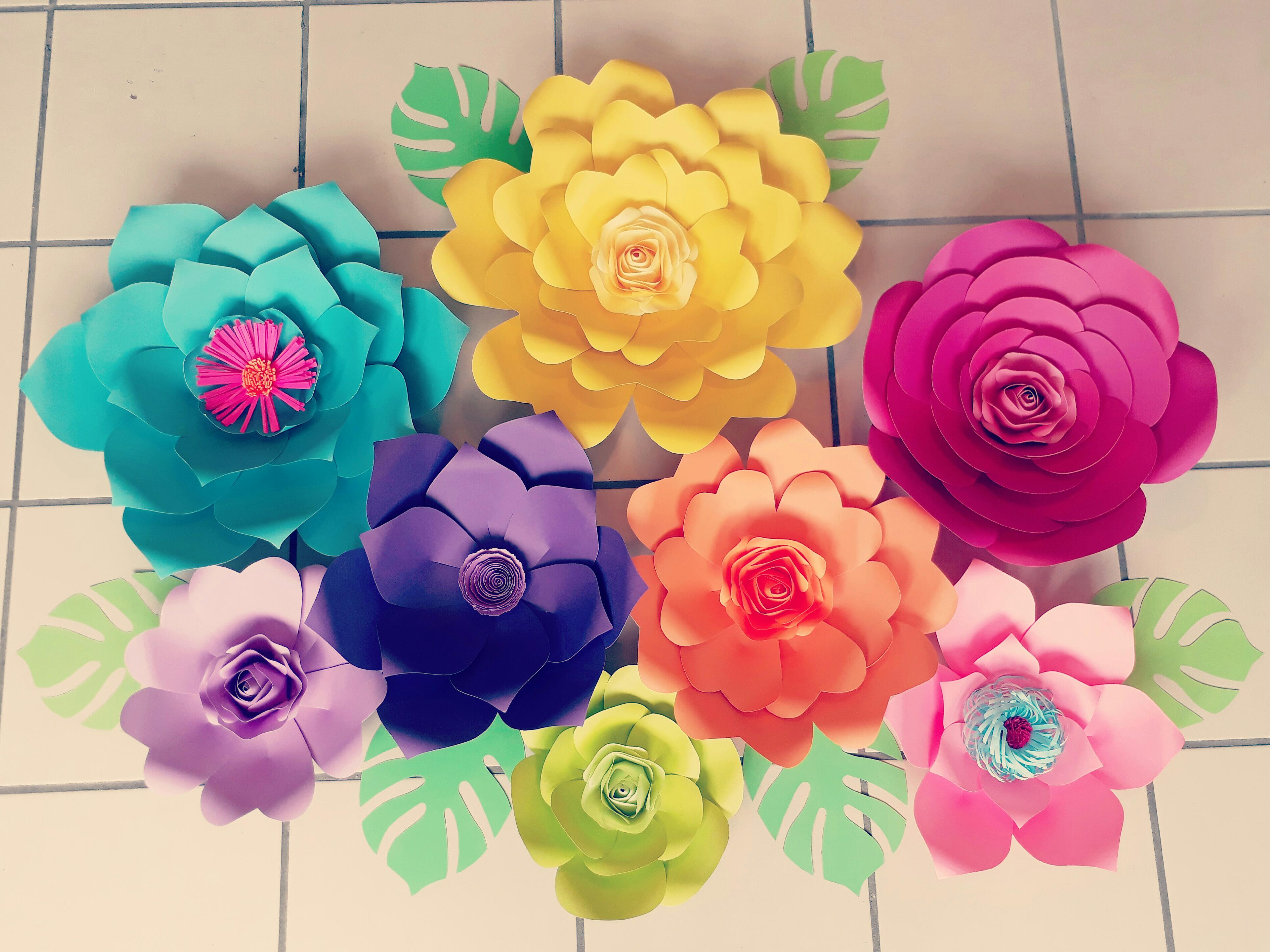 New Paper Flower Class Our Phone Is Not Working San Juan